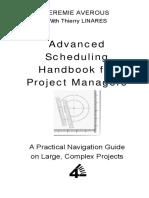 Advance schedule handbook