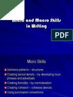 Writing and spoken language