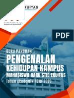 Buku Panduan Pkkmb Stie Ekuitas Ta 2019-2020