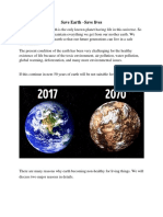 Save Earth.docx