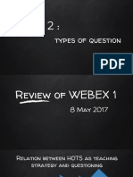 Vicon 2_Types of Question