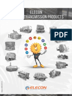 Elecon Power Transmission Range of Products Catalogue
