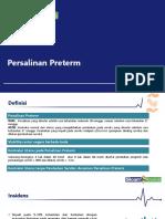 Jul19 - Persalinan PreTerm