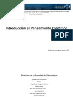 Introducción Al Pensamiento Científico 2019-2020
