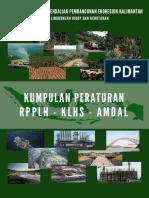 Buku Kumpulan Peraturan RPPLH KLHS AMDAL