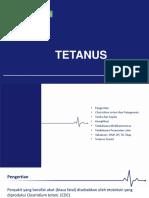 April 2019 - Tetanus