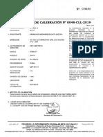 Cmt-001 Certificado Cinta Métrica y Trazabilidad
