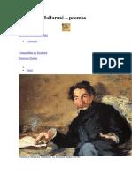 Mallarme, S Poemas