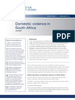 Domestic Violence in South Africa (2014)