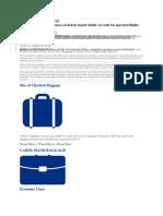 Gulf Air Baggage