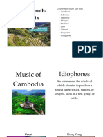 Music of South East Asia