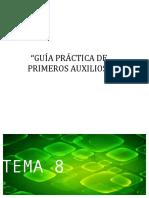 PRIMEROS AUXILOS