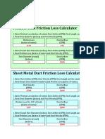 Air Duct Calculator(1)
