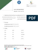 Evaluare Finala Niv 1 Mate