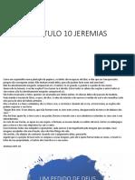 Capitulo 10 Jeremias