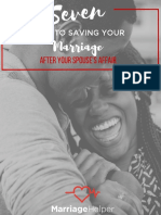 Seven Keys to Saving Your Marriage After Spouse's Affair eBook
