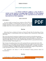 18. Metropolitan Bank & Trust Company v. Alejo