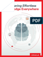 Oracle - Delivering Effortless Knowledge