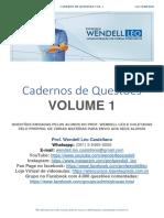 Caderno de questões volume 1
