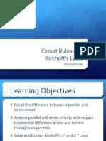 Circuit Rules - physics presentation