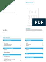 Wireless RFID Keypad