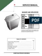 Service Manual Es-t85,95(Flw,Clb,Clp,Clv)