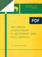 Gravestock Et Al, 2001_Cambrian Biostratigraphy of South Australia_RESIZE
