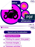 Forces - Speed and Acceleration