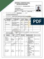Application Form NLC AF-2019