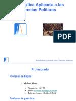 Estadística a las Ciencias Políticas