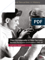 Clayton J. Whisnant (Auth.) - Male Homosexuality in West Germany_ Between Persecution and Freedom, 1945–69-Palgrave Macmillan UK (2012)