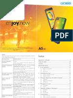 Manual Acatel A5