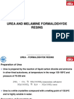 Urea & Melamine Formaldehyde Resins