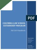 Externships Handbook - Fall 2019(2)