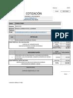 Cotizacion Sistema y Equipos Consultores