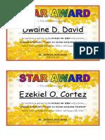 1st Qtr Award