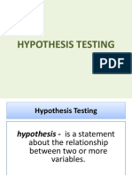 Lecture 5 Hypothesis Testing2