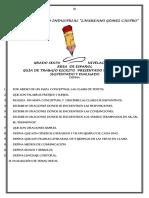 Esquemas de Nivelaciones 6,7,8 2019