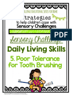 83i_Sensory Strategies - For Home - ADLs - Tooth Brushing