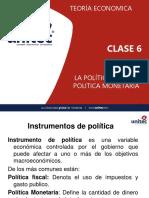 Política fiscal y monetario de Honduras