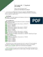 LEGE Nr. 95 Din 2006 Republicata, Versiunea Actualizata Pana La 6 Aprilie 2017