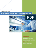The Future of Biotechnology in Medicine