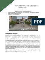 Bataan Zircon Company Profile Word