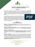 Manual de Politicas Para El Tratamiento y Proteccion de Datos Personales de La Corporacion Parque Arvi