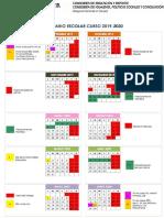 Calendario Escolar Granada 2019:2020