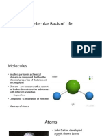 1 Molecular Basis of Life