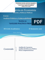 10 Analisis Politico Primario
