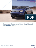 Ford Ranger Body Equipment Manual