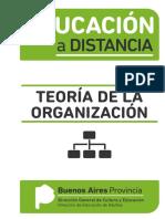 Educación a Distancia Teoría de La Organización