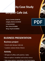 Cafe feasibility Report